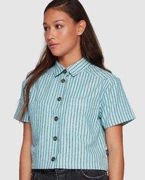 1 Jefferson Short Sleeve Shirt Green R407181 RVCA