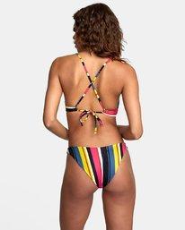 2 Bolsa Knot Front Bikini Top Grey R408648 RVCA