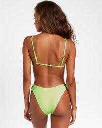 0 Flash French Bikini Bottoms Green R408819 RVCA