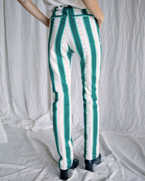 3 Camille Rowe   Camille Pants Blue R415273 RVCA