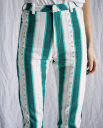 4 Camille Rowe   Camille Pants Blue R415273 RVCA