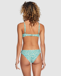 0 Sweet Escape Medium Bikini Bottom Green R415809 RVCA
