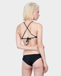 0 Solid Medium Bikini Pant Black R471802 RVCA