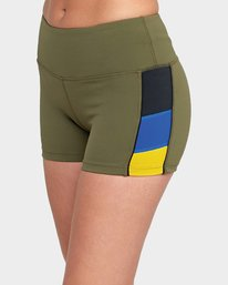 0 VA Shorts Green R481315 RVCA
