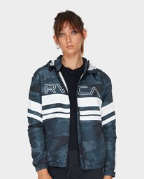0 Va Team Jacket Camo R481431 RVCA