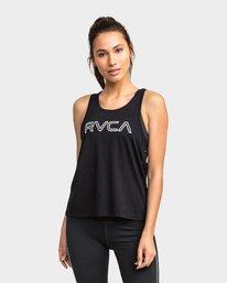 0 X Top Black R481663 RVCA
