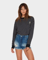 0 The Bf Short Blue R484311 RVCA