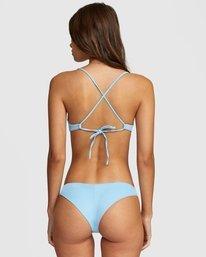 0 Solid Cheeky Bikini Bottom Blue R484826 RVCA