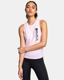 0 VA Muscle tee Pink R492873 RVCA