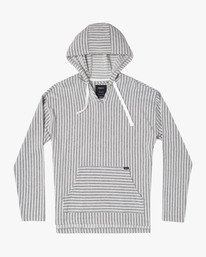 Ledge  - Striped Hooded Sweatshirt for Men  S1FLRBRVP0