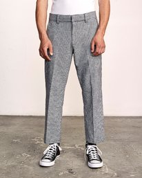 Hi-Grades - Houndstooth Chinos for Men  S1PTRCRVP0