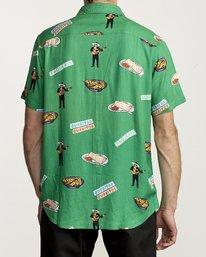 1 Hot Fudge - Camisa estampada de manga corta para Hombre  S1SHRJRVP0 RVCA