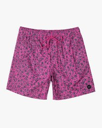 "0 Club 17"" - Elastic Waist Shorts for Elastic Waist Shorts  S1VORDRVP0 RVCA"