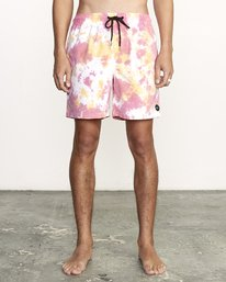 Manic Elastic  - Tie-Dye Elastic Waist Short for Men  S1VORERVP0