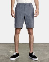 "All Time Coastal Solid 19"" - Hybrid Short / Board Shorts for Men  S1WKRFRVP0"