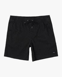 Escape Elastic  - Solid Elastic Waist Short for Men  S1WKRLRVP0