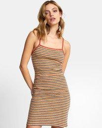 Bianca Dress - Striped Midi Dress for Women  S3DRRHRVP0