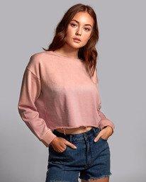 0 Buzzed - Sweatshirt pour Femme  S3FLRARVP0 RVCA