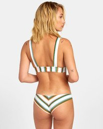 Isle Cheeky - Striped Cheeky Bikini Bottoms for Women  S3SBRFRVP0