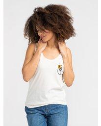 1 Thorns - T-Shirt pour Femme Blanc S3SGRARVP0 RVCA