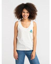 1 Happy Days - T-Shirt pour Femme Blanc S3SGRBRVP0 RVCA