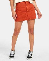Siena - High Waisted Denim Skirt for Women  S3SKRARVP0