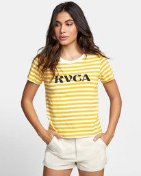 Murphy Stripe - Striped T-Shirt for Women  S3SSRBRVP0