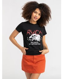 0 Parker - T-Shirt for Women Black S3SSRGRVP0 RVCA