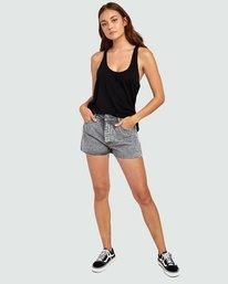 Georgie - High Waisted Denim Shorts for Women  S3WKRBRVP0