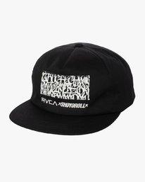 0 SHOYOROLL X BUCHECHA HAT Black S4CPRARVP0 RVCA
