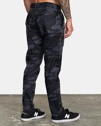 4 Spectrum III - Pantalon élastiqué pour Homme Camo S4PTMDRVP0 RVCA