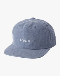 0 Tonally - Knit Strapback Hat for Men  S5CPRNRVP0 RVCA