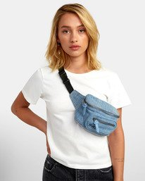 Recruit Bum Bag - Denim Bum Bag for Women  S9ESRBRVP0