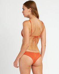 0 Solid Cheeky Bikini Bottoms Yellow SJXB01SC RVCA
