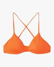 4 Solid Cross Back Bikini Top Brown SJXT01SC RVCA