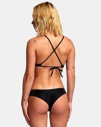 1 Solid Cross Back Bikini Top  SJXT01SC RVCA