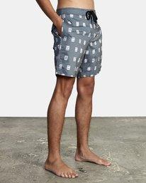 6 Hot Fudge - Boardshort pour Homme Noir T1BSRCRVS0 RVCA