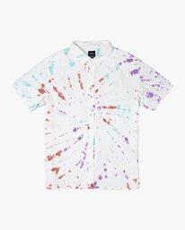 0 Freepoint - Short Sleeve Shirt for Men  T1SHRGRVS0 RVCA