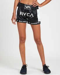 0 RVCA MUAY THAI SHORT Black T2021RBS RVCA