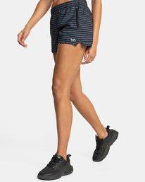 "4 Womens Yogger Stretch Short 11.5"" Multicolor T202TRYS RVCA"