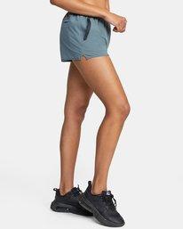 "5 Womens Yogger Stretch Short 11.5"" Multicolor T202TRYS RVCA"