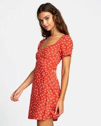 2 Fenced - Robe pour Femme Orange T3DRRFRVS0 RVCA