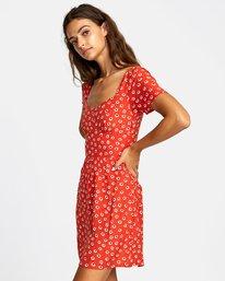 3 Fenced - Robe pour Femme Orange T3DRRFRVS0 RVCA