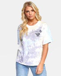 0 Michelle - T-shirt pour Femme Blanc T3SSRGRVS0 RVCA
