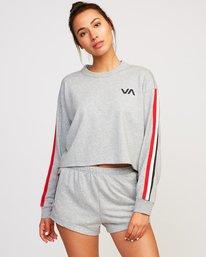 0 Ringside Sweatshirt Grey T701URRS RVCA