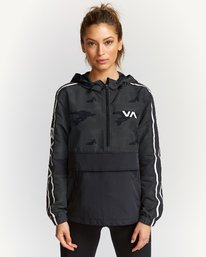 0 Sport Anorak Jacket Brown T702VRPA RVCA