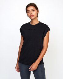 0 GRAPHIC MUSCLE TEE Black T9032RGM RVCA