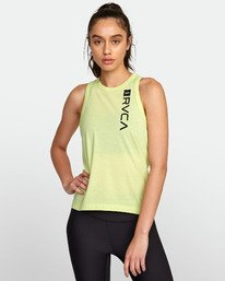 0 VA MUSCLE TANk TOP Yellow T903WRVM RVCA