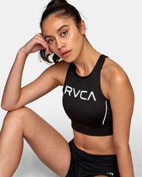 0 VA Longline Sports Bra Black TQ01WRLB RVCA