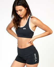 0 VA Takedown Sports Bra Black TQ02TRTD RVCA